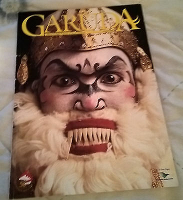 October 1995  GARUDA  INDONESIAN AIRLINES INFLIGHT MAGAZINE , 68 PAGES