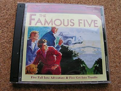 The Famous Five Audio CD Five Fall Into Adventure Five Get  Into Trouble