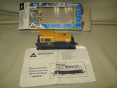 Ahm 5354 Plymouth Switcher At & Sf - Cab #332 -  Nice