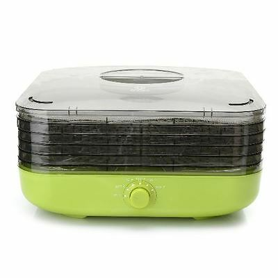 Cook's Companion Turbo Dehydrator w/ Five Stackable Trays - Green
