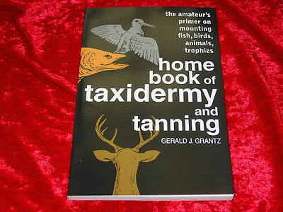 Home Book of Taxidermy and Tanning Book~Explains the Mysteries & Mystiques~NEW