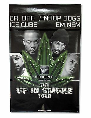 Dr Dre Ice Cube Up In Smoke Tour Poster Snoop Eminem - New Licensed Official