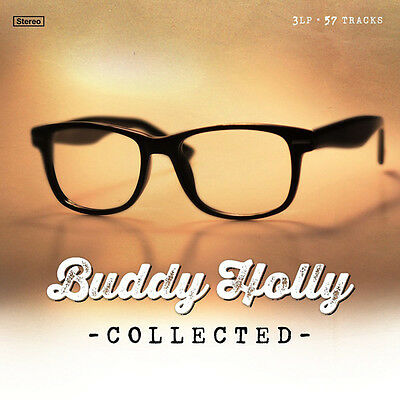 Buddy Holly Collected Lp Vinyl New 2015 3Lp 180Gm Set