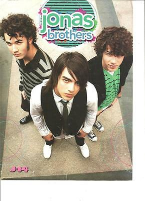 The Jonas Brothers, Jason Dolley, Double Sided, Full Page Pinup
