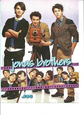 The Jonas Brothers, Jesse McCartney, Double Sided, Full Page Pinup