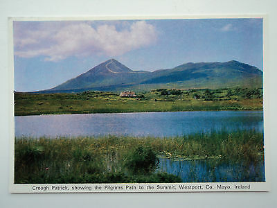 Cardall large colour PC Croagh Patrick, Co Mayo, Ireland. Unposted Pilgrims Path