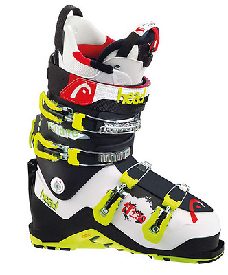NEW Head Venture 130 Alpine downhill ski boots - Wht/Black/2016