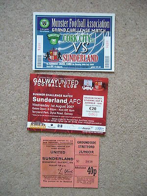 MANCHESTER UNITED v SUNDERLAND 1976 LEAGUE CUP MATCH TICKET