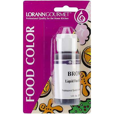 Liquid Food Color 1 Ounce-Brown 023535810357