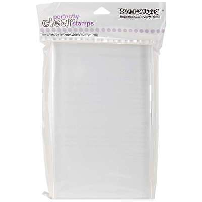 Stampendous Perfectly Clear Stamp Block-Large Rectangle - 4 Inch X 744019146273