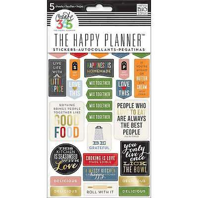 Create 365 Planner Stickers 5 Sheets/Pkg-Good Food 673807993037