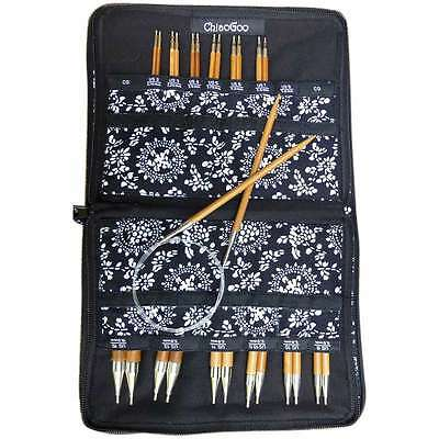 """SPIN Bamboo Interchangeable Knitting Needle 5"""" Tip Set Complete 812208023541"""