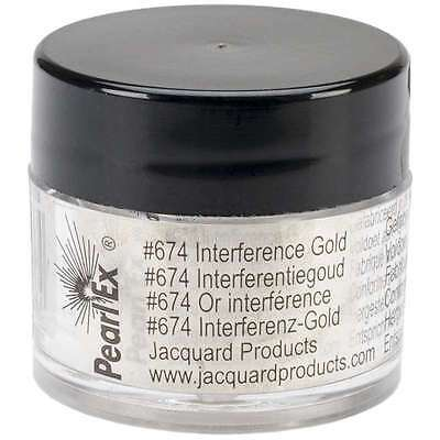 Jacquard Pearl Ex Powdered Pigments 3g-Interference Gold 743772021964