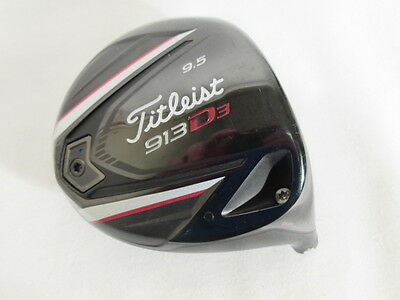 Nice! TITLEIST 913D3 9.5* DRIVER -Head Only-