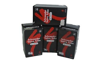 4 QTY Specialized Schraeder Valve Tube bike cycling tubes (26 x 2.4/3.0)
