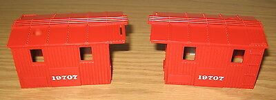 Lionel New/old Stock Part 19707 Southern Pacific Work Caboose Cab Shells O Gauge