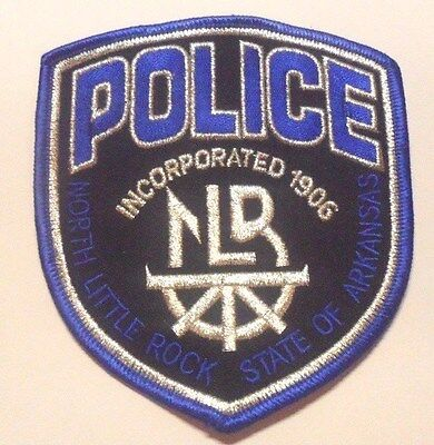 North Little Rock Arkansas Police Patch Unused