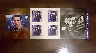 2013 6 first class stamps very rare and desired Dr Who 50th Anniversary