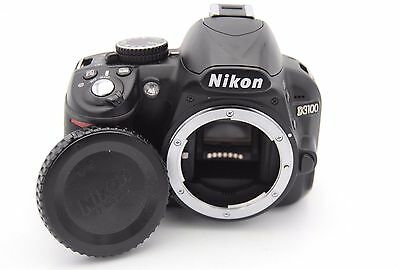 Nikon D3100 14.2 MP Digital SLR Camera Body - SHUTTER COUNT 789