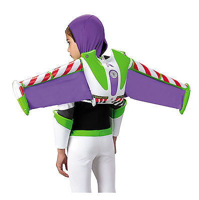 Buzz Lightyear Toy Story Disney Pixar Kids Boys Costume Jet Pack Wings