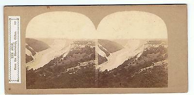 Stereoview By Sedgfield - No 327 The Avon From The Observatory Clifton