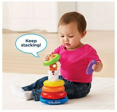 Baby Gifts For 1 Year Olds Stacking Rings Baby Toy Vtech Stack & Sing 6-36 Month