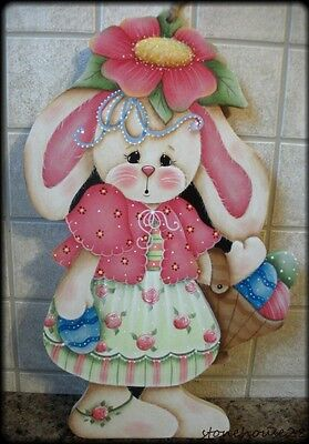 HP Easter BUNNY WALL HANGING