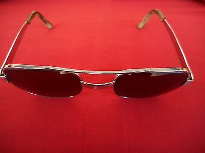 Vintage American Optical AO 140 Styleguard ll Z87 Sun Glasses Goggles Motorcycle