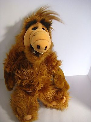 """ALF Alien 18"""" Plush 1986 Coleco voice not working Great Condition"""
