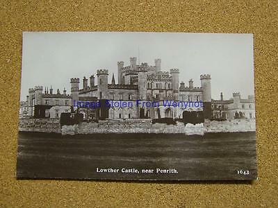 1900s Photo Postcard Lowther Castle,Nr Penrith,Cumbria.