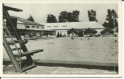 Warner's Holiday Camp Southleigh Devon The Pool Y2. Pc