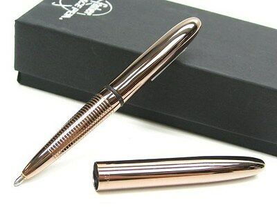 FISHER SPACE PEN Copper Zirconium Nitride BULLET SPACE PEN Black Ink! # 400CZN