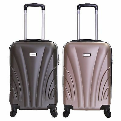 Ryanair 55cm Hard Cabin Approved Carry-On Trolley Hand Luggage Suitcase Case Bag