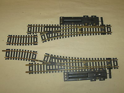 Atlas Ho Brass Pair Of #4 Switches - Tested - Excellent