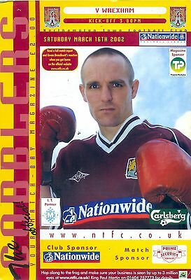 NORTHAMPTON v WREXHAM Division two 16 March 2002
