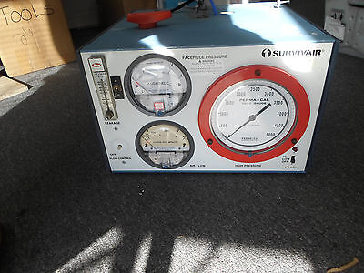 Survivair Breathing Apparatus Test Bench, Part #9057-00 *Untested*
