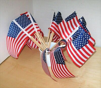 20 Us Army Hand-Held American Flags, New