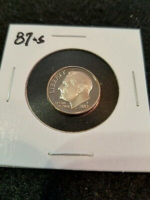 1987-S,,,,, Us Proof Roosevelt Dime,,,,,from Us Proof Set