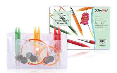 KnitPro Trendz Acrylic Interchangeable Chunky Knitting Needle Set