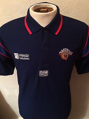 """Wakefield Wildcats Trinity ISC Rugby League 40"""" Medium Polo Shirt Top"""