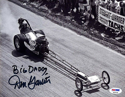 Don Garlits SIGNED 8x10 Photo +Big Daddy Swamp Rat 12-B PSA/DNA NHRA AUTOGRAPHED