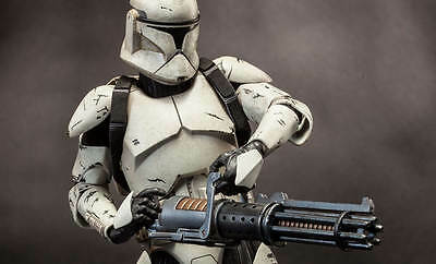 Star Wars~Clone Trooper Deluxe: Veteran~Sixth Scale Figure~Sideshow~Mib