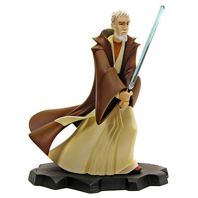 Star Wars~Obi-Wan Kenobi~Animated~Maquette~Le 2000~Gentle Giant Ltd~Mib