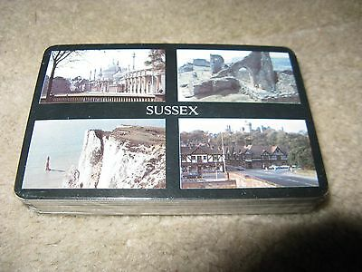 "Souvenir Playing Cards ""Sussex"" Sealed Pack"