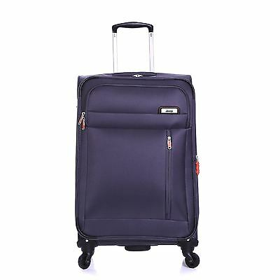Jeep Medium 69cm Expandable Lightweight Travel Suitcase Luggage Trolley Case