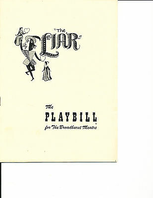 """Opening Night Playbill 1950 NYC Musical """"The Liar"""" RARE 12 Performances"""