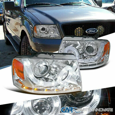 FOR 04-08 Ford F150 06-08 Lincoln Mark LED Halo Projector Light Bulb 4PC US 919