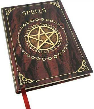 Spell Book Pentagram Journal Book of Shadows Pentacle Wicca Witchcraft Ritual