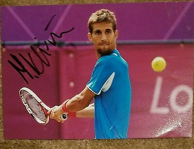Martin Klizan US Open Signed Picture