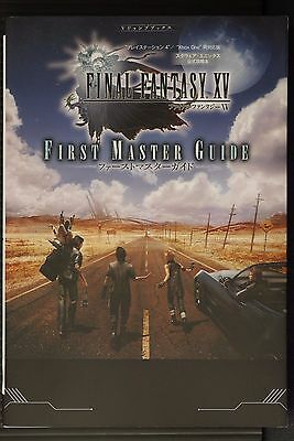 JAPAN Final Fantasy XV (PS4/Xbox One) First Master Official Guide Book